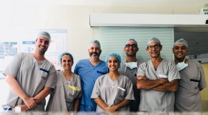Equipe de Cirurgia Antenatal do HVS